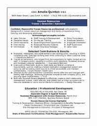 Property Manager Resume Sample Inspirational Hr Manager Resume ...