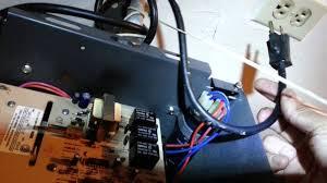 garage door opener faulty capacitor repair part 1