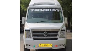 force 16 seater tempo traveller on