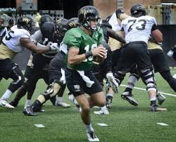 Wake Forest Football Qb Depth Chart Breaking Down Wake Forests First Depth Chart Of The Season