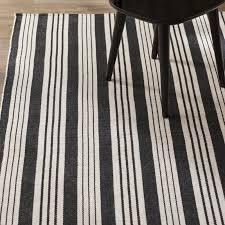 amazing woven birmingham hand woven cotton black area rug reviews allmodern regarding black area rug modern