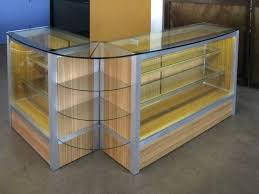 image of countertop jewelry display case ideas