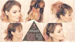 3 Peinados Muy F Ciles Para Pelo Corto Facilisimo Com Youtube