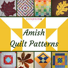 Amish Quilt Patterns Simple 48 Amish Quilt Patterns FaveQuilts