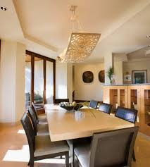 Contemporary Dining Room Light Fixtures Kitchen Interiors