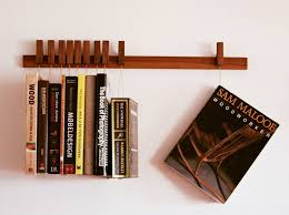 wall mounted solid wood bookcase book