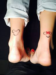 30 Discreet And Utterly Magical Disney Tattoos силуэт татуировки