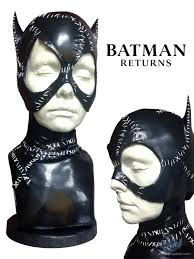 mice pfeiffer catwoman cowl prop from batman returns 1992