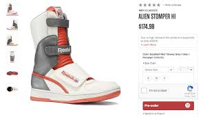 Reebok Unisex Shoe Size Chart Reebok Totally Had Alien Sneakers In Your Size The Mary Sue