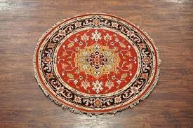 4x4 round rugs round hand knotted vegetable dye antiqued oriental design oriental rug 4x4 rugs canada 4x4 round rugs
