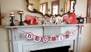 ... Amazing Picture Of Elegant Valentine Decoration Design Ideas :  Surprising Picture Of Fireplace Elegant Valentine Decoration