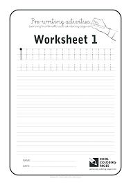 Free Worksheet For School And Kindergarten Writing Worksheets Medium ...