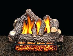 natural looking gas fireplace logs accessories mantels ideas seaford