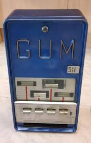 Vending Machine For Sale Ebay Stunning Much Coveted Vintage Gum Vending Machine For Sale On Ebay A Cwtch