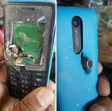 Did this Nokia 301 save a man's life by ...