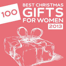 100 Best Christmas Gifts for Women of 2013- a great list with a lot of