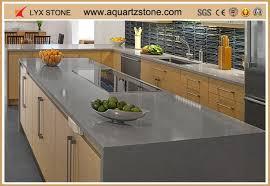 china grey color quartz silestone quartz countertop fabricators mass ion manufacturers supplier factory whole lyx stone