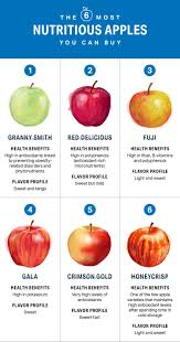 Apple Variety Chart The 6 Most Nutritious Apples You Can Buy Nutrition