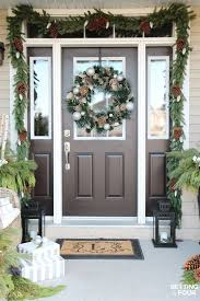 Outdoor Christmas Decorating Best 25 Christmas Entryway Ideas Only On Pinterest French