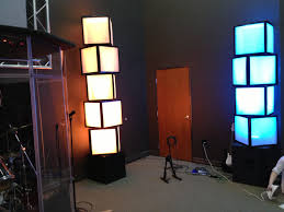 Awesome Led Lights Light Boxes Made Using Air Filters Cardboard Duct Tape And