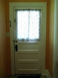 window treatments for doors with half glass back door curtain medium size of moon kitchen curtains