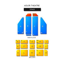 Adler Theater Davenport Iowa Seating Chart Adler Theatre Tickets