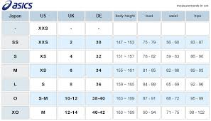Asics Size Chart Asl01s Asics Japan Spurtex Swimsuit Charcoal Fina Competition