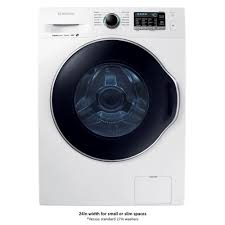 How Does A High Efficiency Washer Work Samsung 24 In 22 Doe Cu Ft High Efficiency Front Load Washer