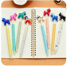 crazy office supplies. (8 Pieces/lot) Cute Crazy Pony Gel Pen Student Creative Papelaria School Office Supplies Stationery Material Escolar-in Pens From \u0026