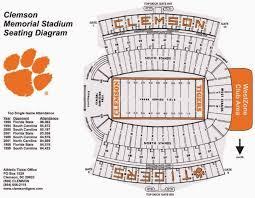 Duke University Football Stadium Seating Chart Clemson Football Stadium Google Search Blue Devils