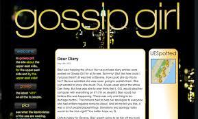 Bridget's Own Diary: xoxo, Gossip Girl