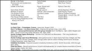 Theatre Resume Template Word Impressive Musical Theatre Resume Template Download Examples Word Bra Om Acting