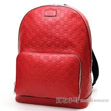 kaitorikomachi gucci gucci signature leather backpack hibiscus red gg type push calfskin rucksack day pack men gucci sima 406370 cwccn 8646 gg gucci