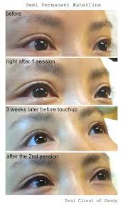pin by semi permanent makeup by sandy tan on lash line waterline make up