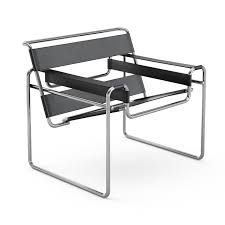 Marcel Breuer Wassily Chair - Brown Leather