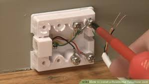 how to install a residential telephone jack pictures image titled install a residential telephone jack step 15