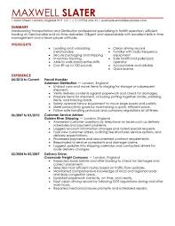 Transportation Resume Examples Truck Driver Resume Examples Created By Pros Myperfectresume