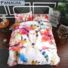 fanaijia dream catcher bedding set king size bohemian kids duvet cover set with pillowcase 3pcs au