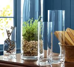 large clear glass vases clear glass vases pottery barn giant clear glass vase