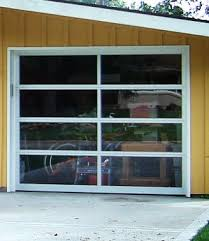 clear garage doorsLook Clear Garage Doors  Apartment Therapy