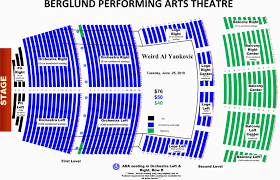 Berglund Performing Arts Theatre Seating Chart Tennessee Theatre Seating Map
