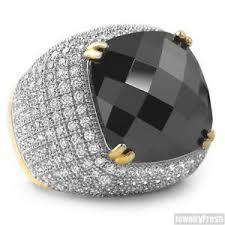 image is loading 10 carat black lab made onyx gold large