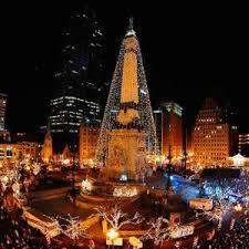 tree lighting indianapolis. Circle Of Lights Tree Lighting Indianapolis Monthly