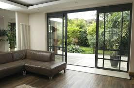 modern look living room awesome sliding doors living room awesome sliding glass doors for a more
