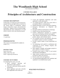 Principles Of Architecture The Woodlands High School Principles Of Architecture And