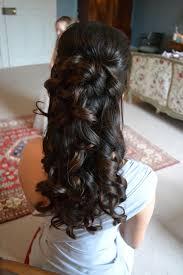 Wedding Half Up Hairstyles Half Up Curly Wedding Hairstyle Half Up Half Down Wedding Hair For