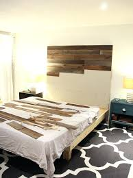 Wooden Headboards Queen Size Diy Wood Headboard With Lights En Cream King. Wooden  Headboard Designs Ding Side Queen Plans Wood And Footboard.