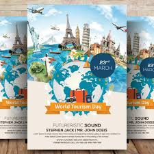 Advertising Poster Templates Custom Tour Travel Flyer Template For Free Download On Pngtree