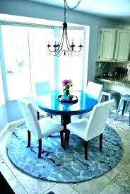 round rugs under dining table area rug under round dining table round rugs for kitchen round