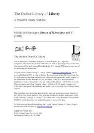 liberty essays g liberty essays oglasi liberty essays can you liberty essaysthe essay as self knowledge montaigne s philosophical online library of liberty